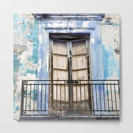 Facade of Taormina in Sicily Metal Print