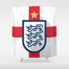 England Minimal Shower Curtain