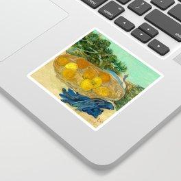 Van Gogh Still Life with Lemons and Oranges Sticker