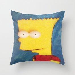 Bart Throw Pillow