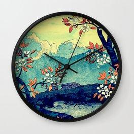 High Views at Tenko Wall Clock