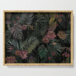 Tropical Iridescence Serving Tray