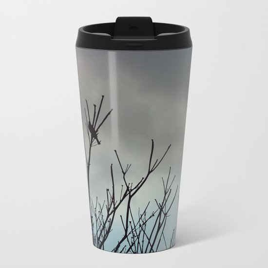 Under Grey Skies Metal Travel Mug