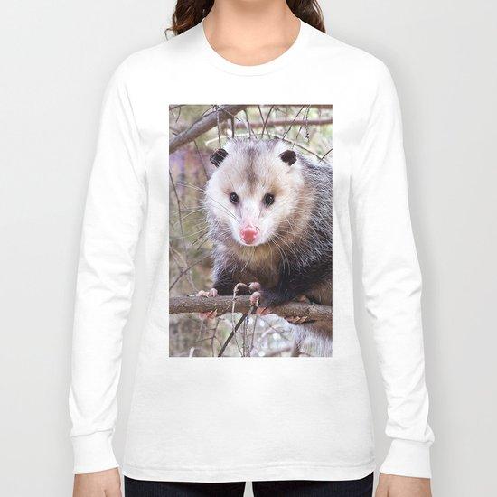 Possum Staredown Long Sleeve T-shirt
