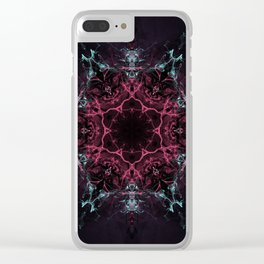 Gateway to Hollow Earth Clear iPhone Case