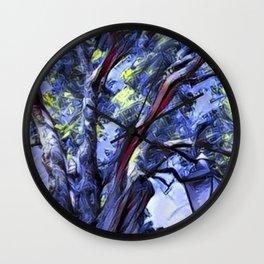 Tree and Light Wall Clock