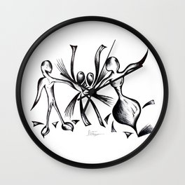 LOVE ILLUSION Wall Clock