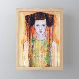Anja Framed Mini Art Print