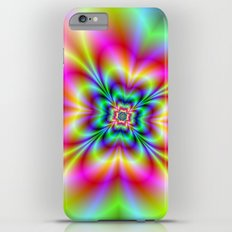 Psychedelic Four Leaf Clover  Slim Case iPhone 6s Plus