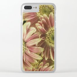 little gerberas Clear iPhone Case