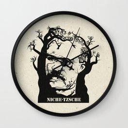 NICHE-TZSCHE Wall Clock