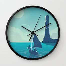 Zelda Wind Waker Wall Clock