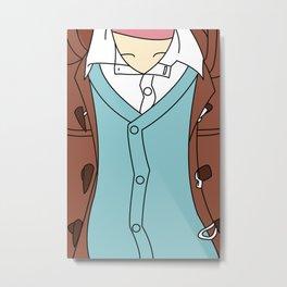 No. 6 Shion Outfit Metal Print