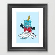 Mr Melty Framed Art Print