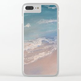 """""""Starting Point"""" detail Clear iPhone Case"""