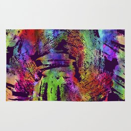Rainbow cool brush Rug