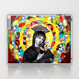 Nossa Senhora do Perpétuo Socorro (Our Lady of Perpetual Help) Laptop & iPad Skin