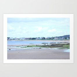 Seaside Houses Art Print