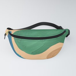 16 | Imperfection | 190325 Abstract Shapes Fanny Pack