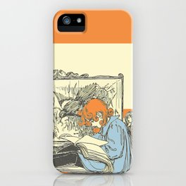 Leave Me Alone, I'm Reading (and I'm a Redhead) iPhone Case