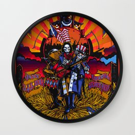 Dead Heads In Chicago! Wall Clock