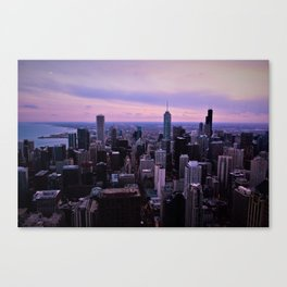 Chicago Sunsets Canvas Print