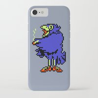 earthbound iPhone & iPod Cases featuring Crow - Mother / Earthbound Zero by Studio Momo╰༼ ಠ益ಠ ༽