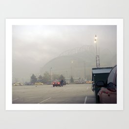 Smokey Stadium 2 Art Print