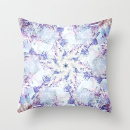 Icy Fantasy Throw Pillow