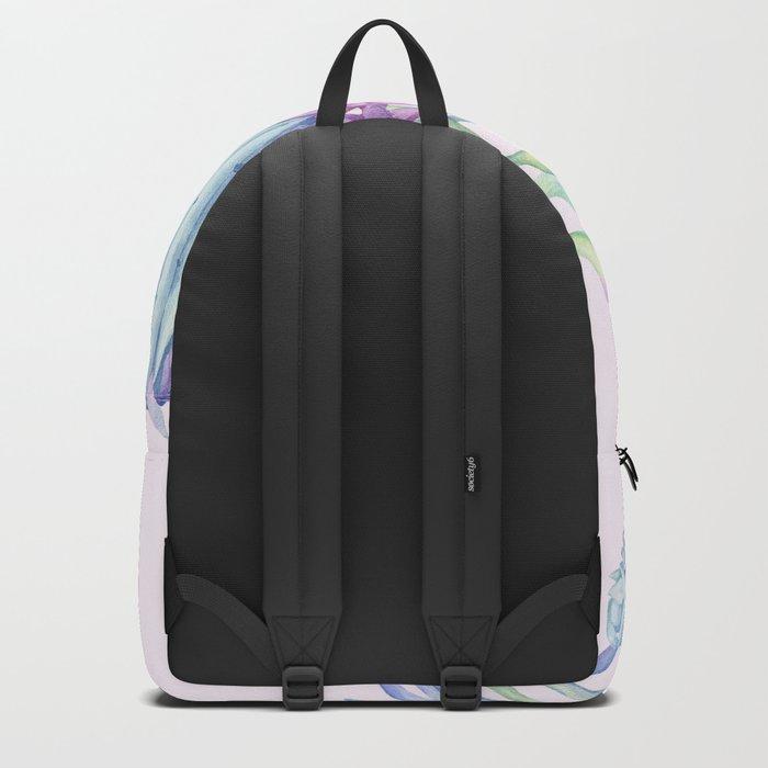 Mixed Cacti Pink #society6 #buyart Backpack