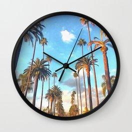 L.A. Morning Wall Clock