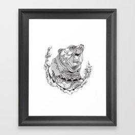 Spirit Bear Framed Art Print