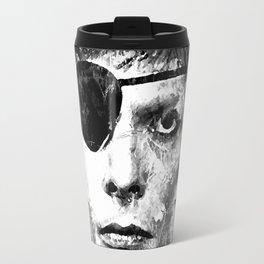 BOWIE (BLACK & WHITE VERSION) Travel Mug