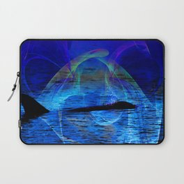 Dolphin Crossing Laptop Sleeve