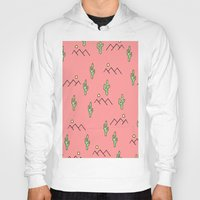 cacti Hoodies featuring Cacti by Cale potts Art