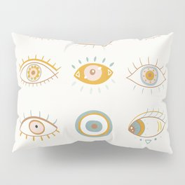 Evil Eyes I Pillow Sham