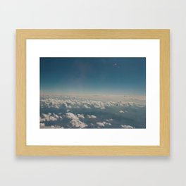Over the clouds II  Framed Art Print