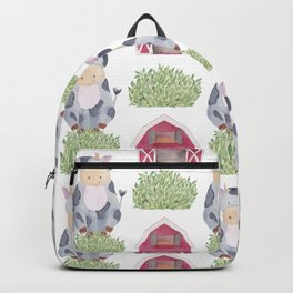 Farm Pattern Backpack