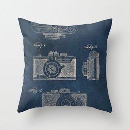Cazin Camera patent art Throw Pillow