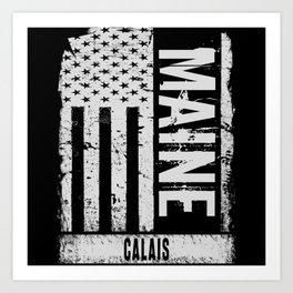 Calais Maine Art Print