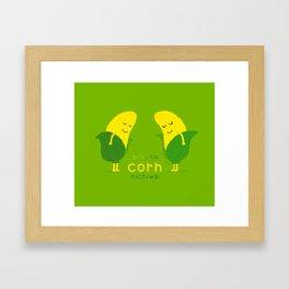 Corn-Nichiwa Framed Art Print