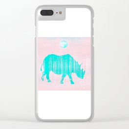 Dreamland Clear iPhone Case