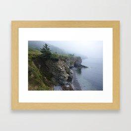 Cliffs and Coves Framed Art Print