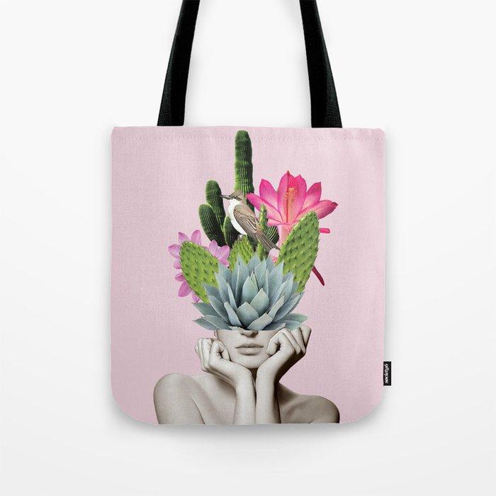 Cactus Lady Tote Bag