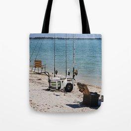 Wishin I Was Fishin III Tote Bag