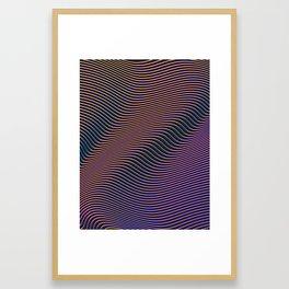 Fancy Curves II Framed Art Print