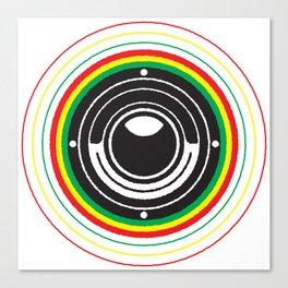 Trinity Bass Vibration Canvas Print