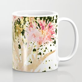 flowers and splash Coffee Mug