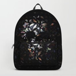 Butterfly And Skull Backpack