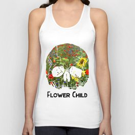 Flower Child II Unisex Tank Top